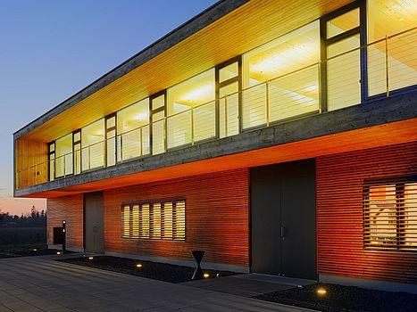Firmengebäude von AWITE Bioenergie Außenansicht