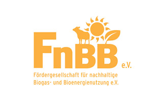 Logo FnBB - Fördergesellschaft für nachhaltige Biogas- und Bioenergienutzung e.V.