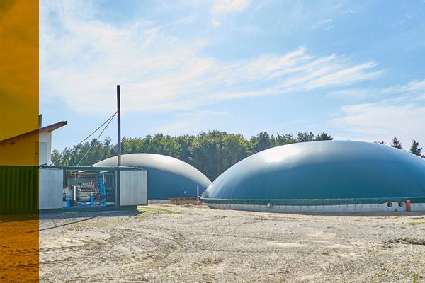 Biogasanlage von AWITE Bioenergie
