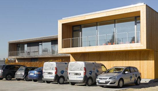 Firmengebäude von AWITE Bioenergie